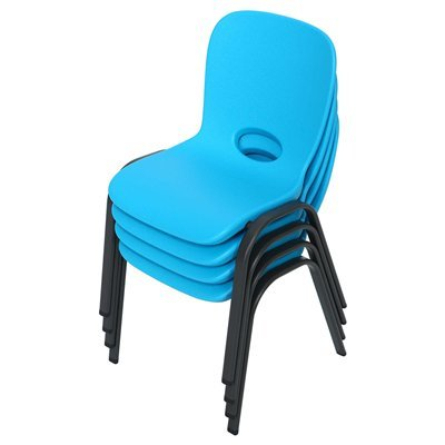 4 PACK LIFETIME children's Stacking Chair.4 Sillas Apilable para Niños.