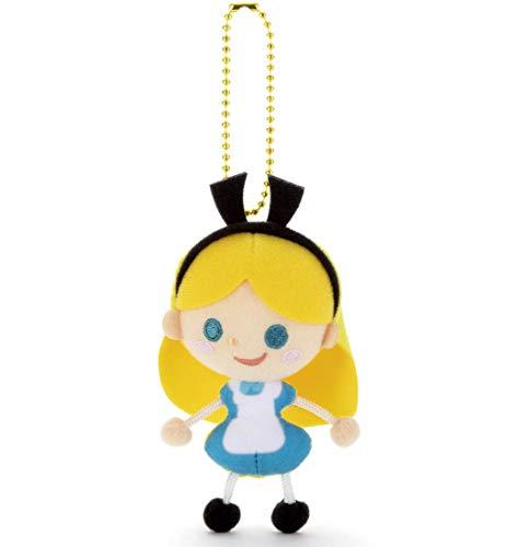 ディズニー キャラクタートイカンパニー クリーナー付 ボールチェーンマスコット アリス 高さ約 11cm