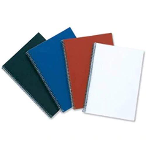LeatherGrain Umschlagmaterial, A4, 100 Stück, schwarz