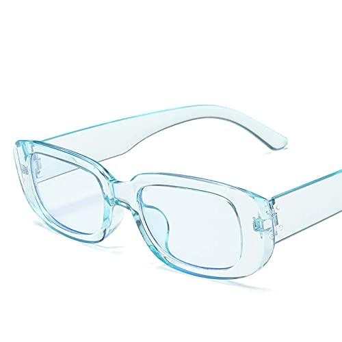Pequeño marco Gafas de sol Hombres y mujeres Moda Square Gafas de sol Coloridas Calle Tiro de verano Protección solar Decoración de la decoración Viaje al aire libre (Color : M)