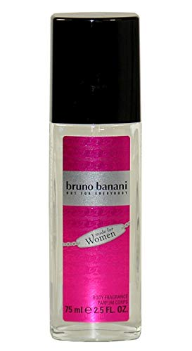 Bruno Banani Made for Women, Body Fragrance/Parfum Deo, Natural Spray, 75ml