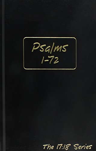 Psalms 1-72, Volume 1 - Journible The 17:18 Series (Journibles: the 17:18 Series)