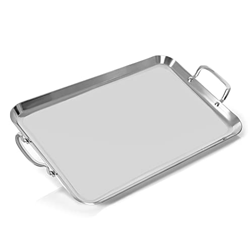 5-Ply Stainless Steel Double Griddle
