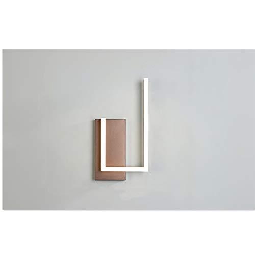 PrittUHU Lámparas de Pared LED Modernas para la habitación de la habitación Dormitorio Estudio Nuevas Luces Interiores Luminaria Iluminación Fondo de iluminación AC90-260V