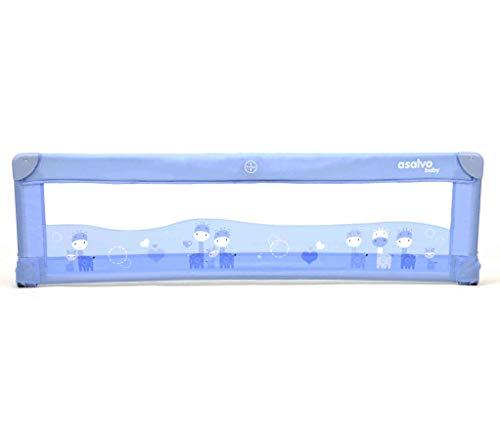 Barrière de lit Baby Fox 150 cm Collection 'Girafe' - Bleu