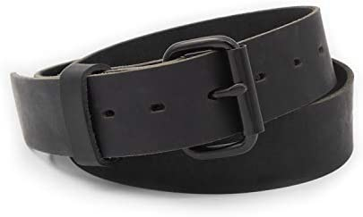 The Classic Leather Everyday Belt Made in USA Full Grain Leather product image