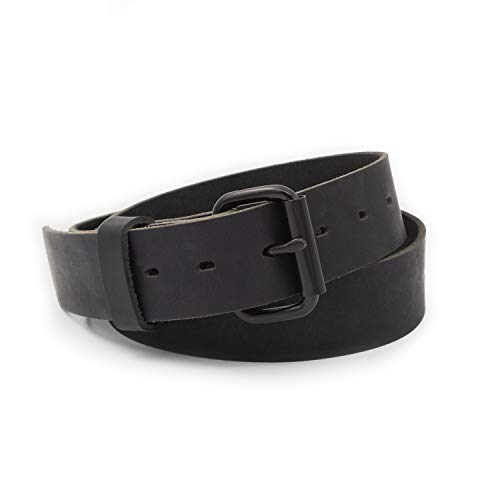 The Classic Leather Everyday Belt   Made in USA   Full Grain Leather