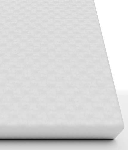 Rundum wasserdichter Matratzenschoner 90x200(Matratzendicke 15-19 cm) Atmungsaktive undurchlässige Matratzenauflage-Schützt auch die Seiten - Premium Molton Matratzenschutz ohne Knittergeräusche