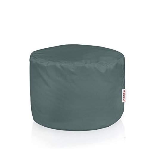Italpouf Grau Sitzwürfel Outdoor Cilindro