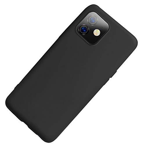 Funda iPhone 11, Carcasa Silicona Suave Colores del Caramelo con Superfino Pelusa...