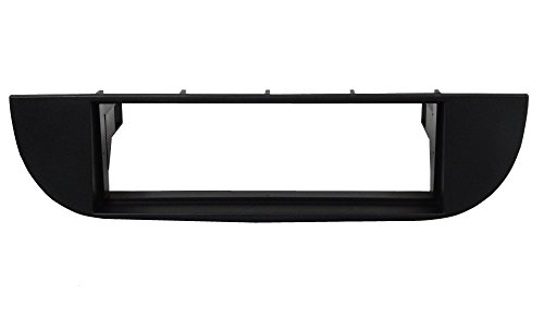 AERZETIX - Mascherina Telaio Adattatore - 1 DIN - Copertura in plastica stampata per il cambio sostituzione dell'Autoradio Originale con un Radio Standard per veicoli automobile - C3045