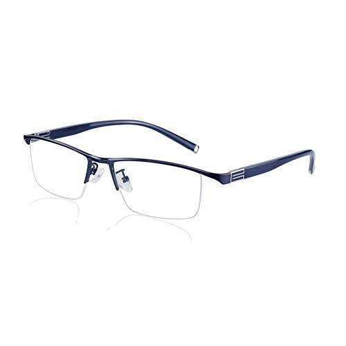 Eyetary Lesebrille Progressive multifokale photochrome Sonnenbrille, Asphärische bifokale Linse Outdoor-Readers für UV400 / Blendschutz/Vergrößerung 1,00 bis 3,00 Stärke,Blue,+1.75