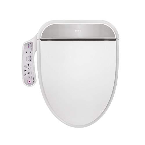 R FLORY Abattant WC intelligent Bidet FDB320 Économie d énergie Eau chaude Séchage à l air sec (Normal-UE)