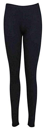 FAIRY TRENDZ LTD Leggings largos elásticos para mujer, tallas grandes, largos, lisos, talla grande, talla 38 – 26