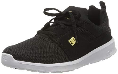 DC Shoes Heathrow Se, Zapatillas para Mujer, Negro (Black/Gold 201), 37 EU