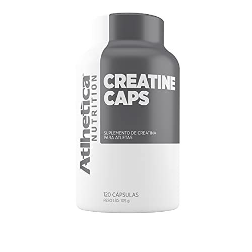 Creatina Pro Series (120 caps), Atlhetica Nutrition