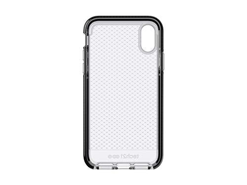 Tech21 Evo Check Schutzhülle für Apple iPhone X/iPhone Xs - Rauchig/Schwarz
