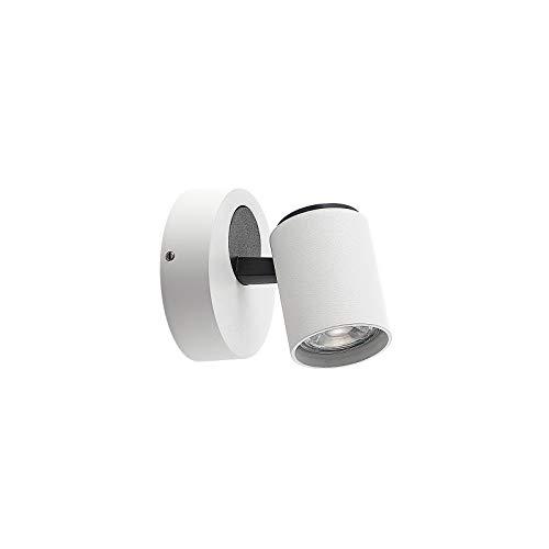 Foco 'Ninette' (Moderno) en Blanco hecho de Aluminio e.o. para Pasillos (1 llama, GU10, A++) de Lindby   foco empotrado, lámpara de techo, lámpara de pared