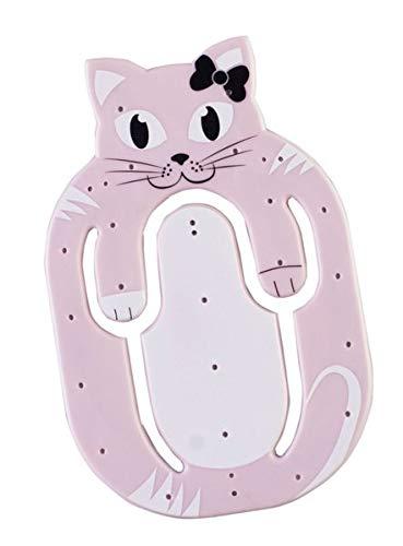 Flexistand Animal Katze - superflacher Aufsteller für Smartphones und Mini-Tablets, Handyhalter: Ideal zum Filme schauen und lesen - für zuhause und unterwegs
