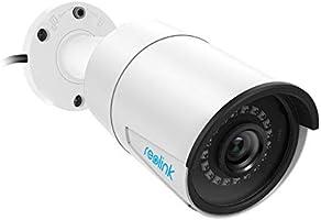 Reolink Telecamera da Esterno di Sicurezza Poe da 5MP Super HD Supporto Audio Bullet Sorveglianza Impermeabile...