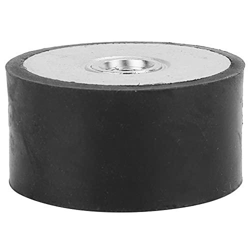 Amortiguador de vibraciones antichoque resistente al calor Amortiguación Aislador de goma duradero Soporte de goma para motores de gasolina para compresores(DE40*20 M8)