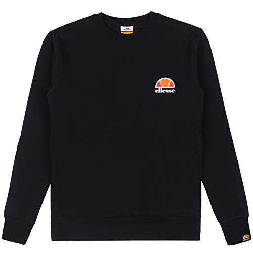 ellesse Sweater Damen Haverford Sweatshirt Schwarz Black, Größe:S