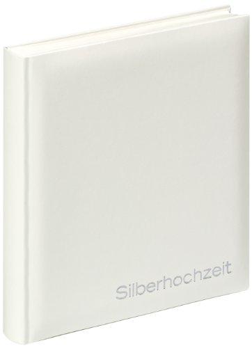 Walther US-109 Silberhochzeitsalbum Rings, 28 x 30,5 cm
