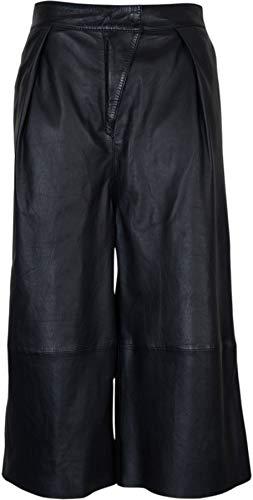 Tigha Damen Culotte Elif aus Leder schwarz M