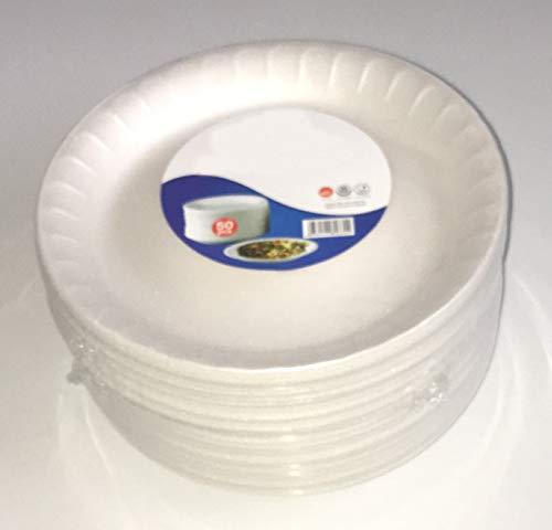 Tezraftaar® wit schuim wegwerp platen 7