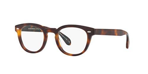 Oliver Peoples Gafas de Vista SHELDRAKE OV 5036 SEMI-MATTE MAHOGANY 47/22/145 hombre