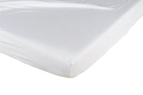 Candide Drap Housse Jersey Coton 70 x 140 cm Blanc