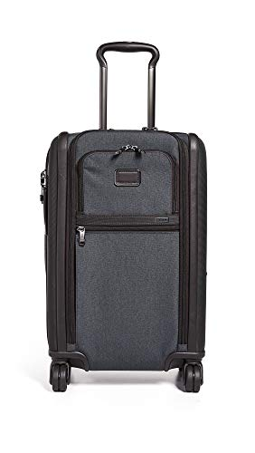 [トゥミ] スーツケース ソフト 公式 正規品 TUMI Alpha 3 インターナショナル・デュアル・アクセス・4ウィール・キャリーオン 機内持ち込み可 保証付 45L 56 cm 10.7kg Anthracite
