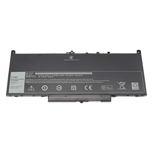 Nueva batería para portátil J60J5 para DELL Latitude E7470 E7270 7470 7270 Series 451-BBSY 451-BBSX 451-BBSU, P/N: 0MC34Y MC34Y 7CJRC R1V85 242WD GG4FM WYWJ2 1W2Y2