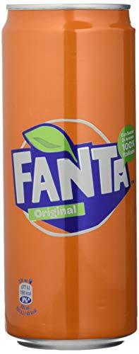 Fanta Original 330 ml - 4 lattine