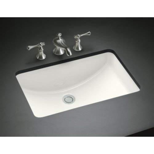 KOHLER K-2214-G-0 Ladena Undercounter Bathroom Sink, White