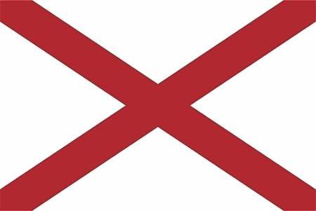 Kiwistar Aufkleber Alabama Montgomery Bundesstaat Usa Autoaufkleber Sticker State Flagge Auto