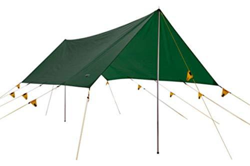 Wechsel Tents Tarp S - Chapiteau de Protection Contre Les Intempéries 4 x 2,9 m - Bâche Imperméable, Facilement Transportable et Compacte - Vert (Zero-G)