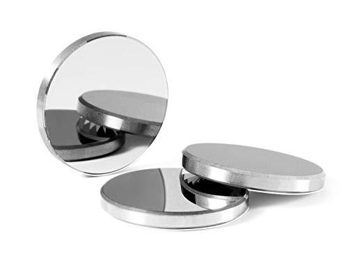 TEN-HIGH 3x Dm. 20 mm Reflexion Spiegel Reflektor Linse Molybdän (MO) für CO2 Laser Gravier- und Schneiden Maschine, Reflection Mirror, MEHRWEG