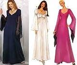 Butterick Pattern 6593 ~ Misses' Evening Length Flared Dress ~ 6-8-10