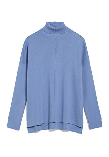 ARMEDANGELS AYAKAA - Damen Pullover aus Bio-Baumwolle S Dove Blue Strick Pullover Loose fit