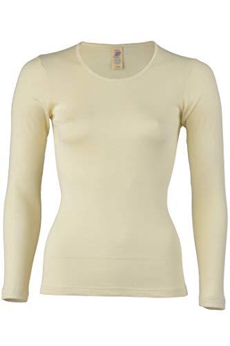 Engel - Women`s Unterhemd L/S - Silk Base Layer Size 38/40, Grey/White