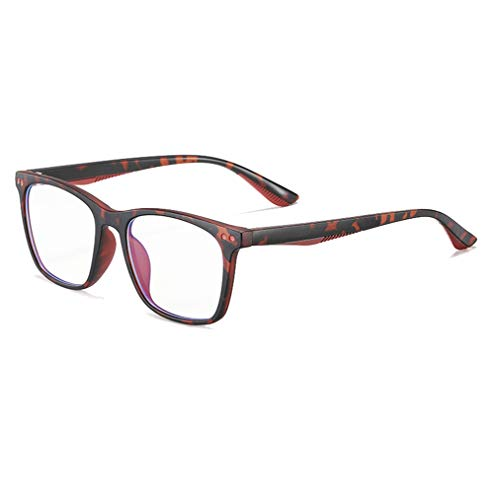 Ototon - Gafas antiluz azul para niños, montura rectangular, ultraligeras TR90, antifatiga, gafas de ordenador para niñas, niños, teléfono portátil y Gaming