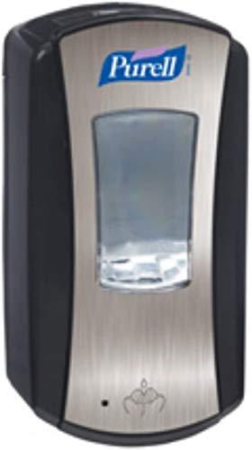 PURELL LTX-12 Dispenser, 1200mL, Chrome/Black - one Dispenser.