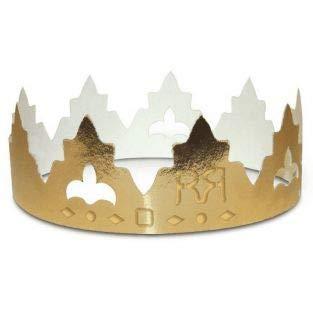 2 coronas de cartón para roscón de reyes - Clásico