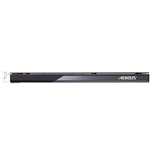 GIGABYTE AORUS Nvme Add-in-Card 2TB Hochleistungs-Gaming, fortschrittliche Thermo-Lösung mit Kupfer-Kühlkörper, Toshiba 3D TLC, SSD GP-ASACNE6200TTTDA
