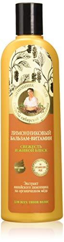 Grandma Agafia's Recipes Natural Lemongrass Conditioner Natural Shine Hair 280ml by Grandma Agafia's Recipes 5 Juices
