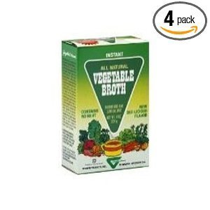 Gayelord Vegetable Broth 4 OZ (Pack of 9)