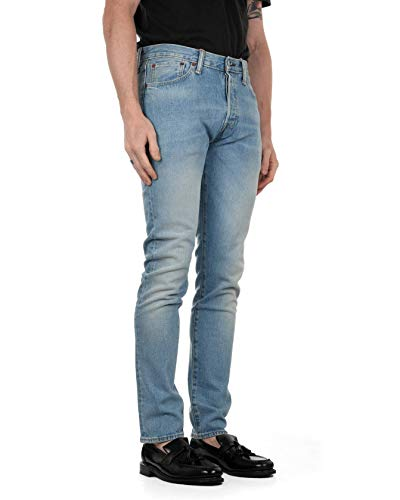Levi\'s® Herren Jeans 501 Skinny West Coast Skinny Fit Stoned Blue (81) 33/34