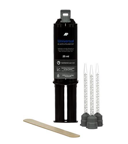 AP Universalklebstoff, 2K High-Performance Acrylat, Topfzeit: 40sec, insbesondere auch geeignet für Kunststoff und Metall (25 ml)