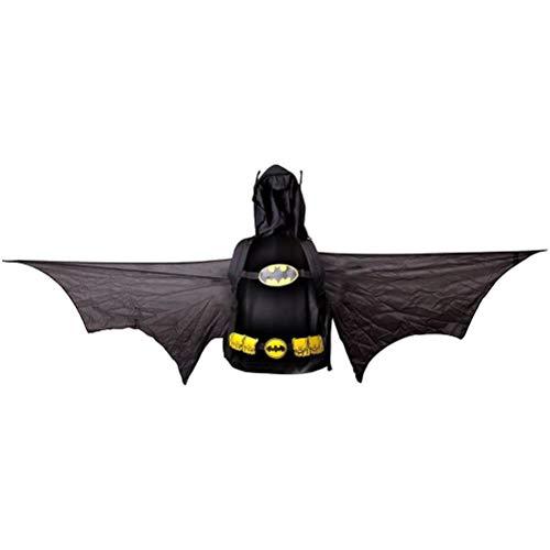 Batman Juego para Arriba Cosplay Mochila con alas y de la Capilla